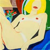 TOM WESSELMANN US 19312004 Mixed Media on Paper
