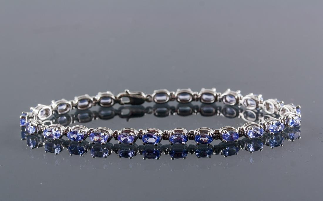 6.0ct Tanzanite Bracelet CRV $5375 Certificate