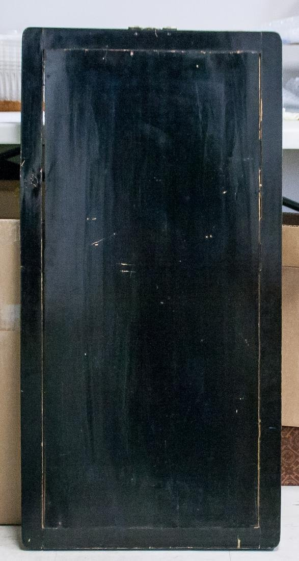 Chinese Gilt Lacquer Wood Carved Panel with Frame - 5