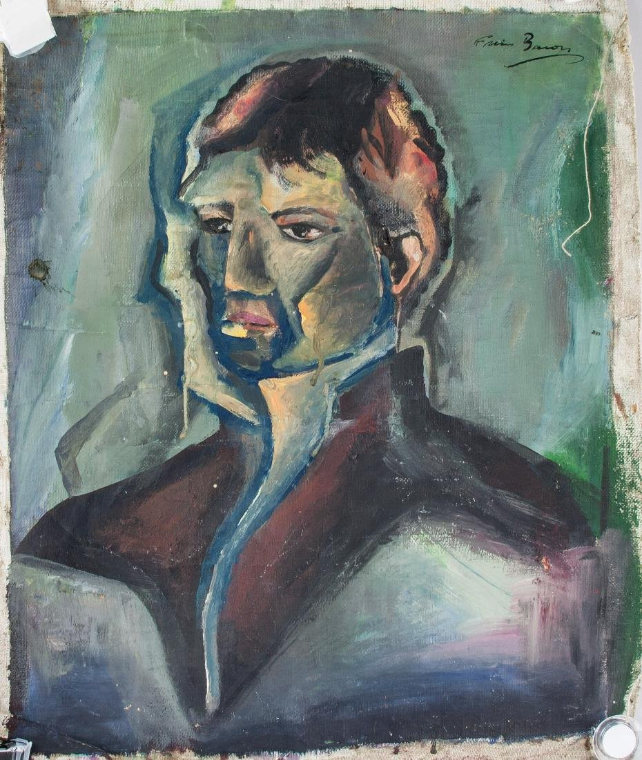 FRANCIS BACON Irish 1909-1992 Acrylic Portrait