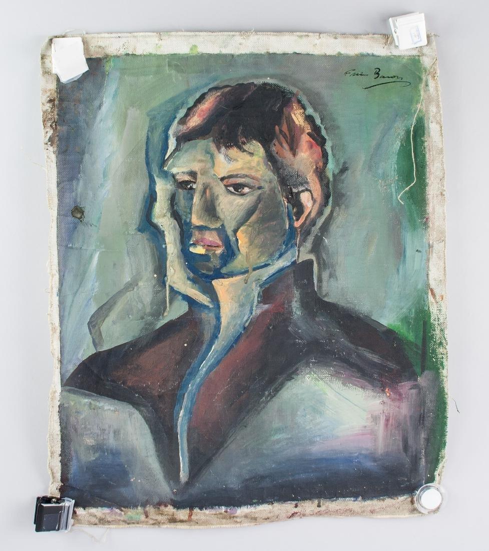 FRANCIS BACON Irish 1909-1992 Acrylic Portrait - 2