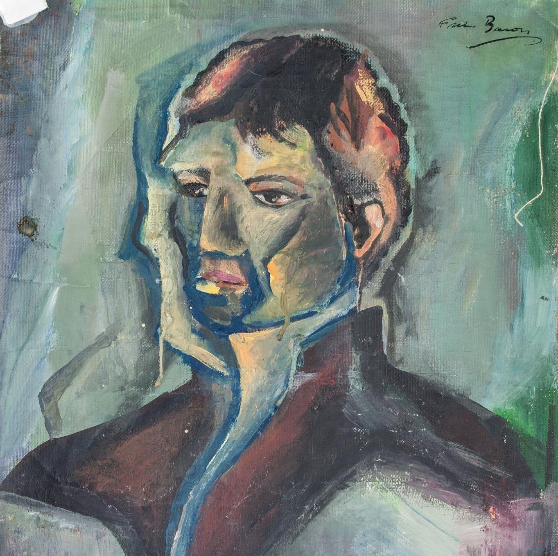 FRANCIS BACON Irish 1909-1992 Acrylic Portrait - 3