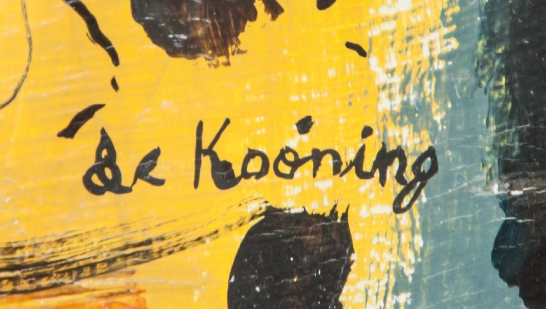 WILLEM DE KOONING Dutch 1904-1997 OOC Figure - 4