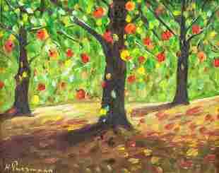 HANS PURRMANN German 1880-1966 Oil on Canvas