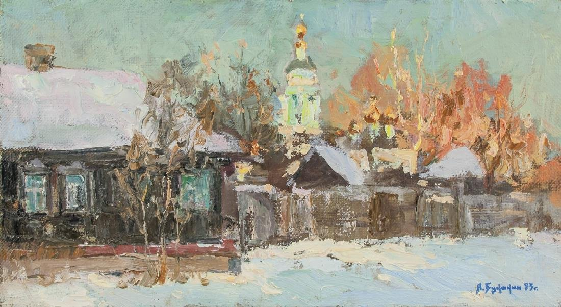 ALEKSEI BUKAKIN Russian b. 1963 Oil on Canvas