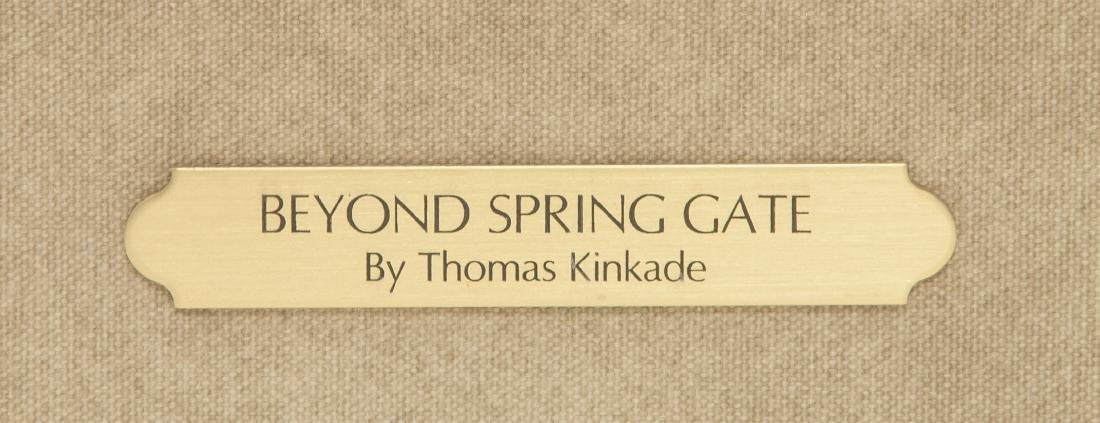 THOMAS KINKADE American 1958-2012 Lithoprint COA - 5