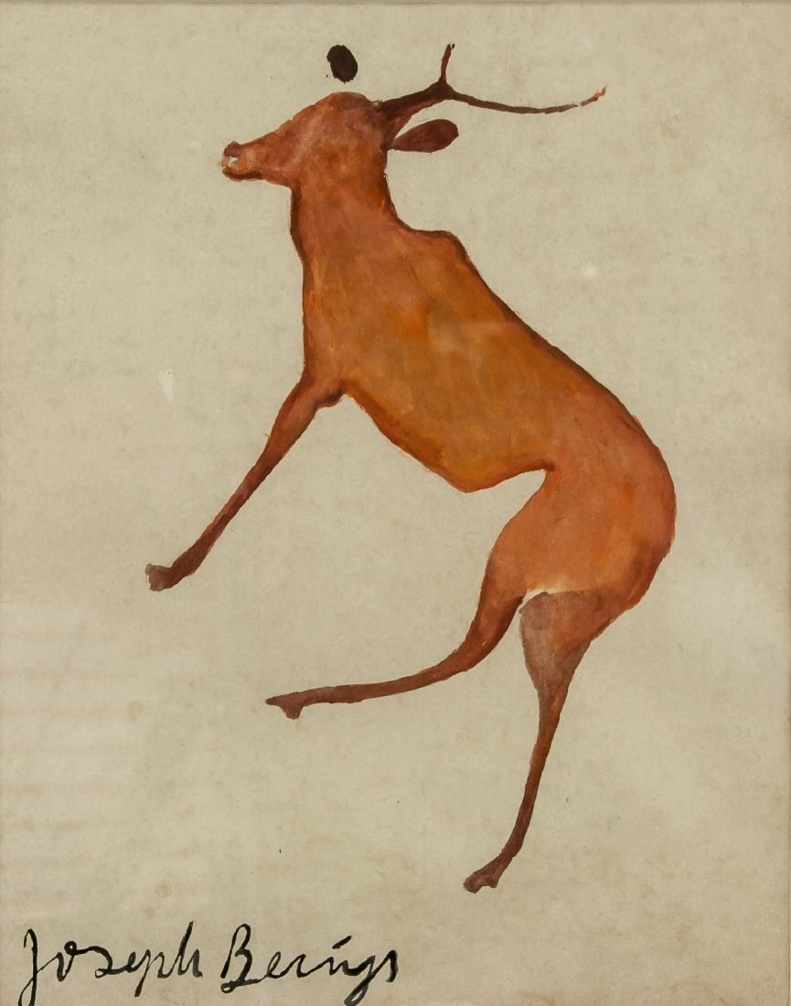 Attr. JOSEPH BEUYS German 1921-1986 Watercolor