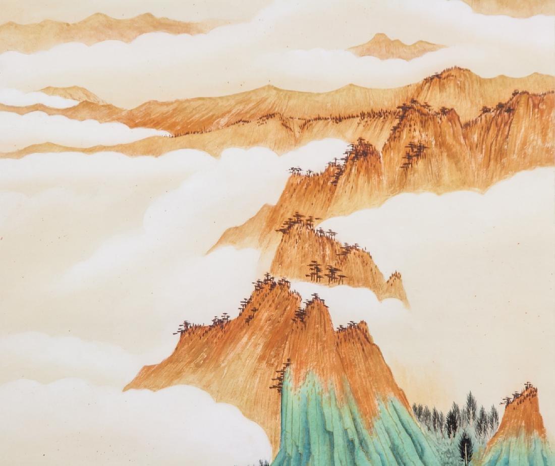 ZHANG DAQIAN Chinese 1899-1983 Watercolor - 3