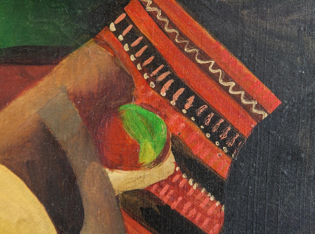 French Oil on Canvas Cubist Signed Metzinger - 3