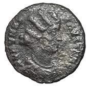324326 Roman Empire Fausta Follis Bronze Coin
