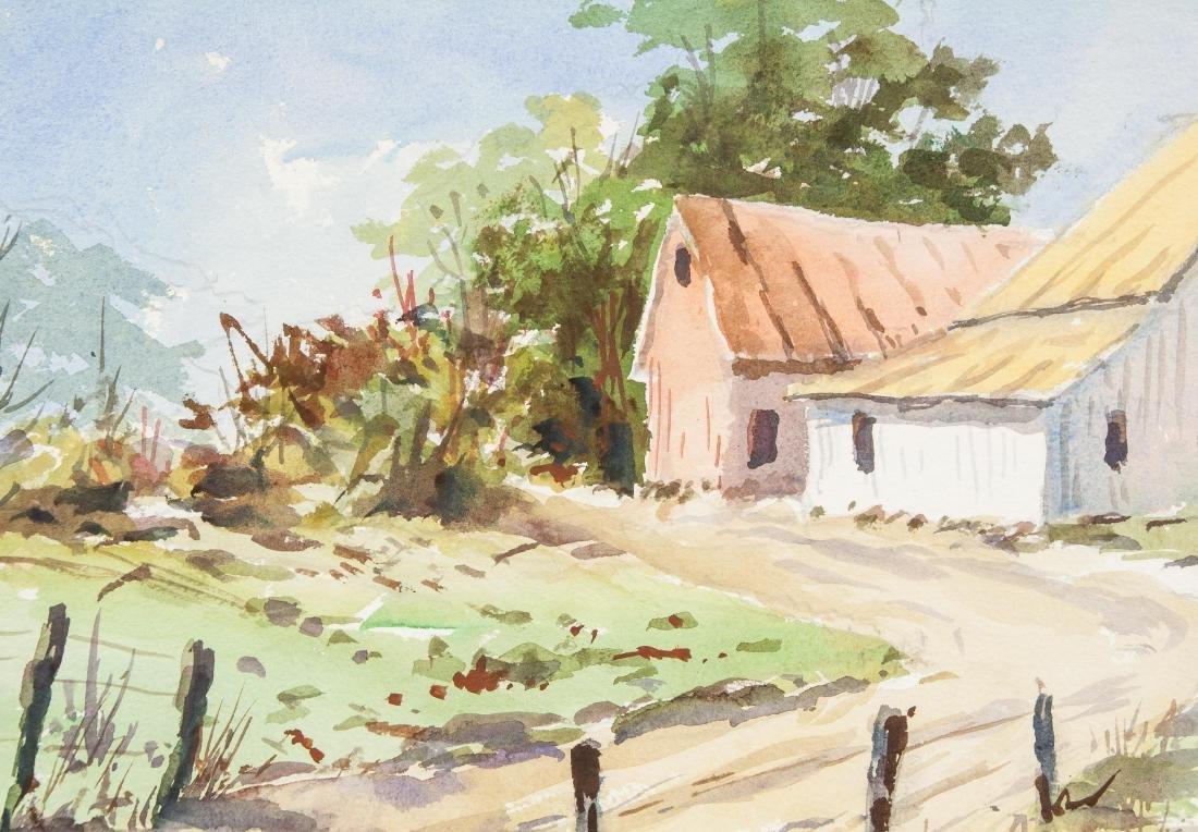 Edward Garbely 1908-1999 US Watercolor Landscape - 3