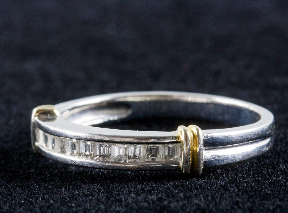 18k Gold Diamond Ring - 2
