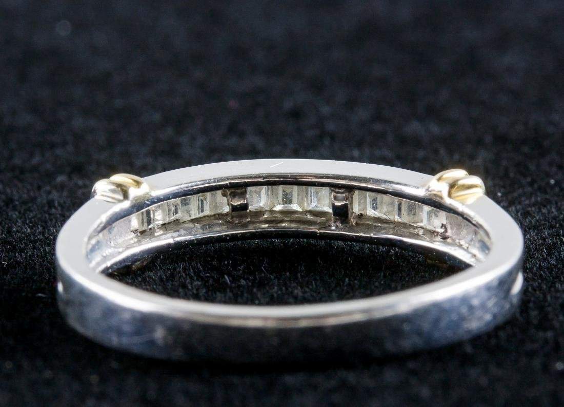 18k Gold Diamond Ring - 3