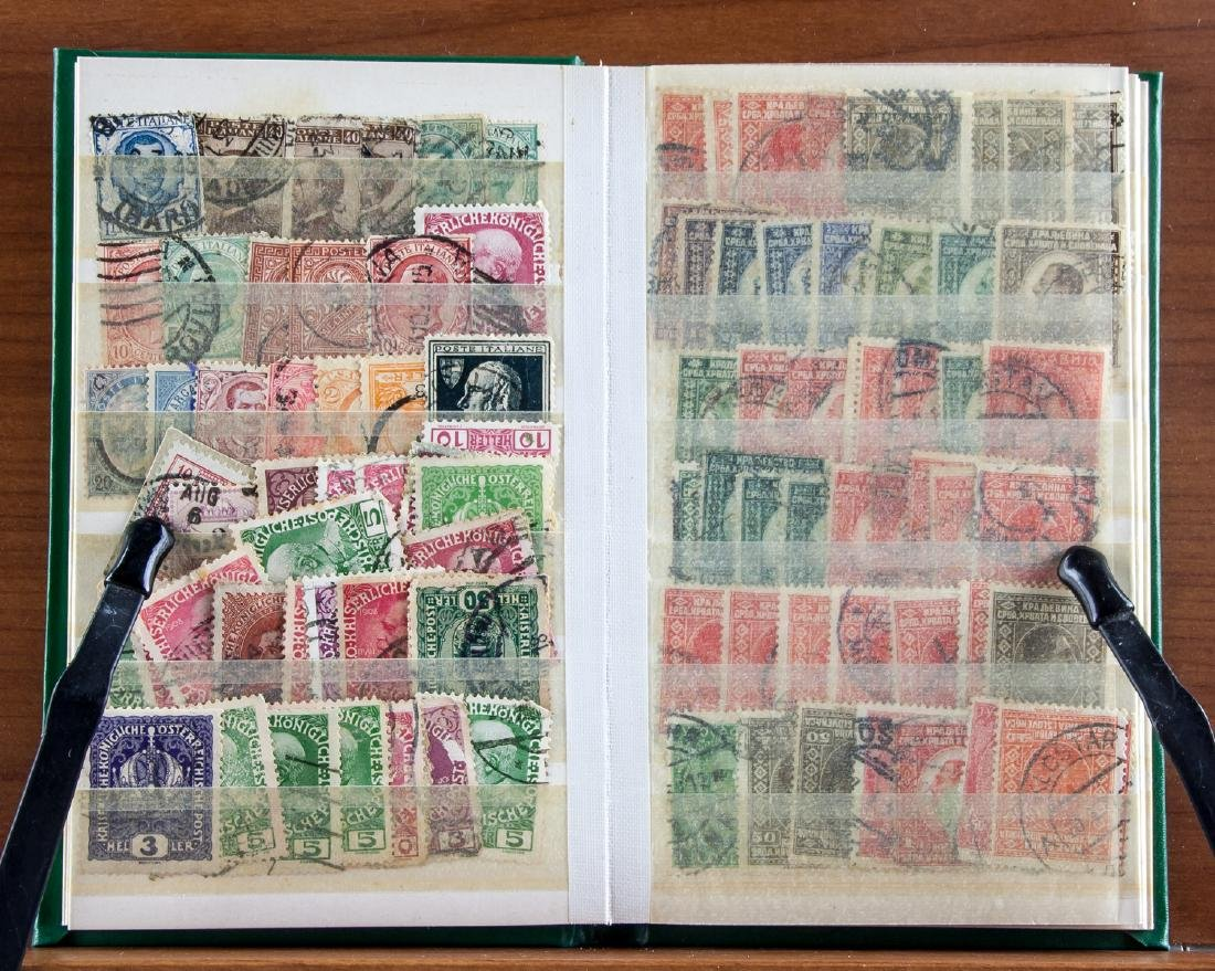 World Stamp Collection Book 615 Assorted Stamps - 2