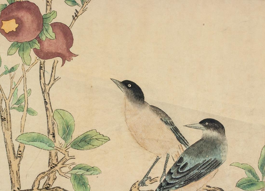Yan Bolong 1898-1954 Chinese Watercolor Scroll - 3