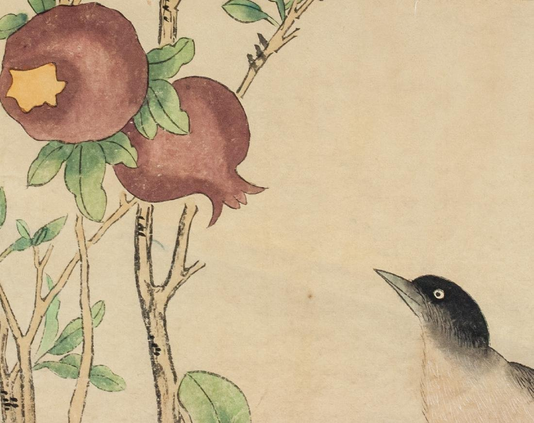 Yan Bolong 1898-1954 Chinese Watercolor Scroll - 5