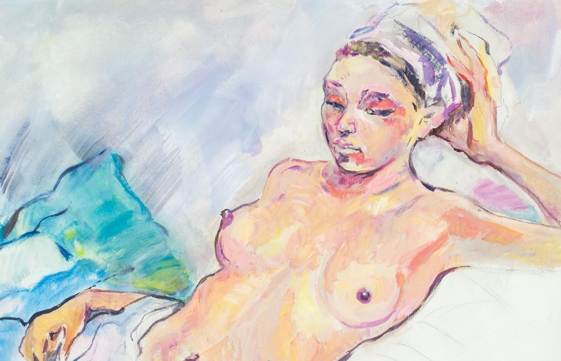 Russian Impressionism Gouache Zinaida Serebriakova - 2