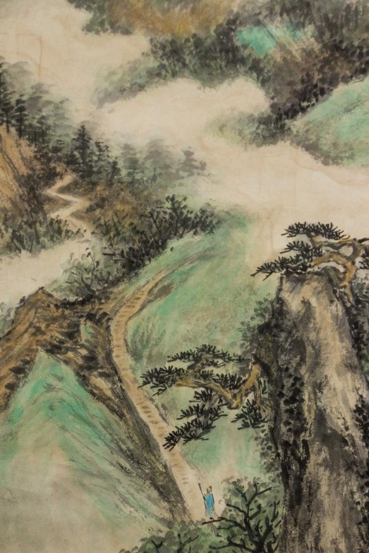 Wu Hufan 1894-1968 Chinese Watercolour Paper Roll - 3