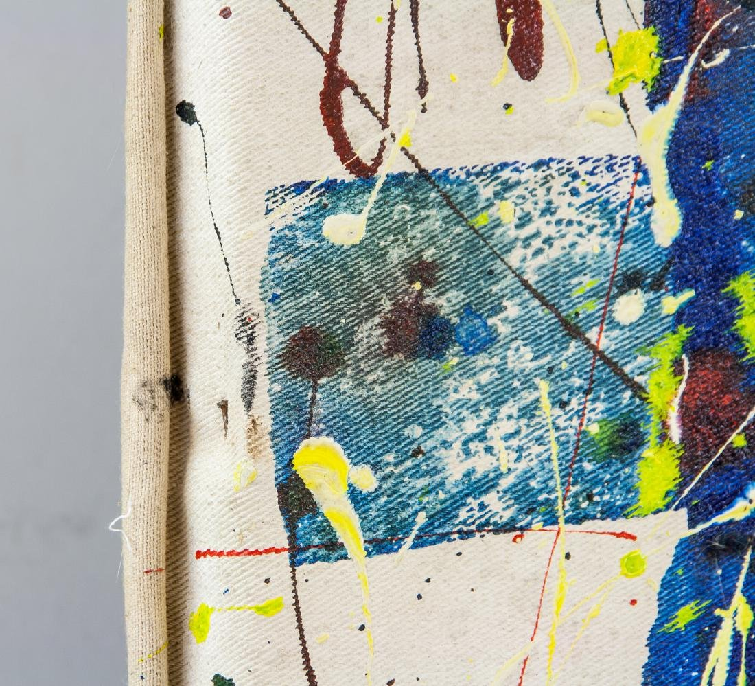 American Oil Abstract Signed Sam Francis - 5