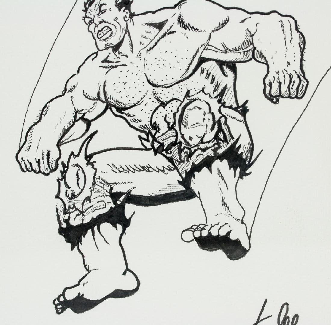 American Pop Art Ink Signed Stan Lee - 4