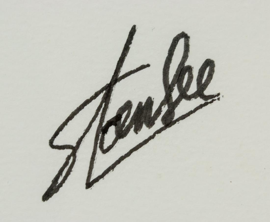 American Pop Art Ink Signed Stan Lee - 5