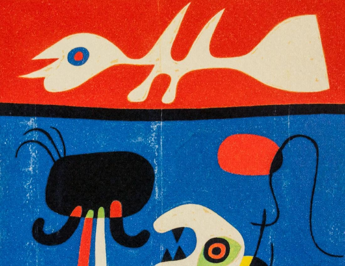 Joan Miro Spanish Surrealist EA Lithograph Paper - 3