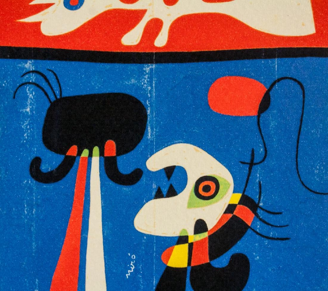 Joan Miro Spanish Surrealist EA Lithograph Paper - 4