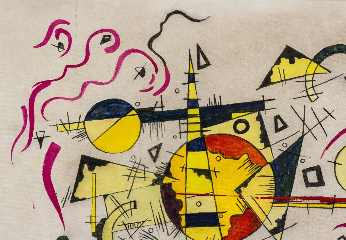 Wassily Kandinsky Russian Abstract Oil on Canvas - 3