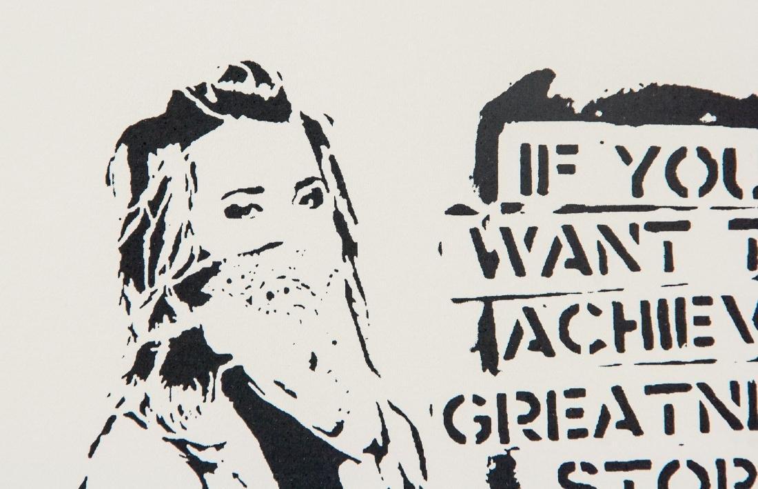 Banksy British b.1974 Silkscreen Lithograph 21/330 - 3