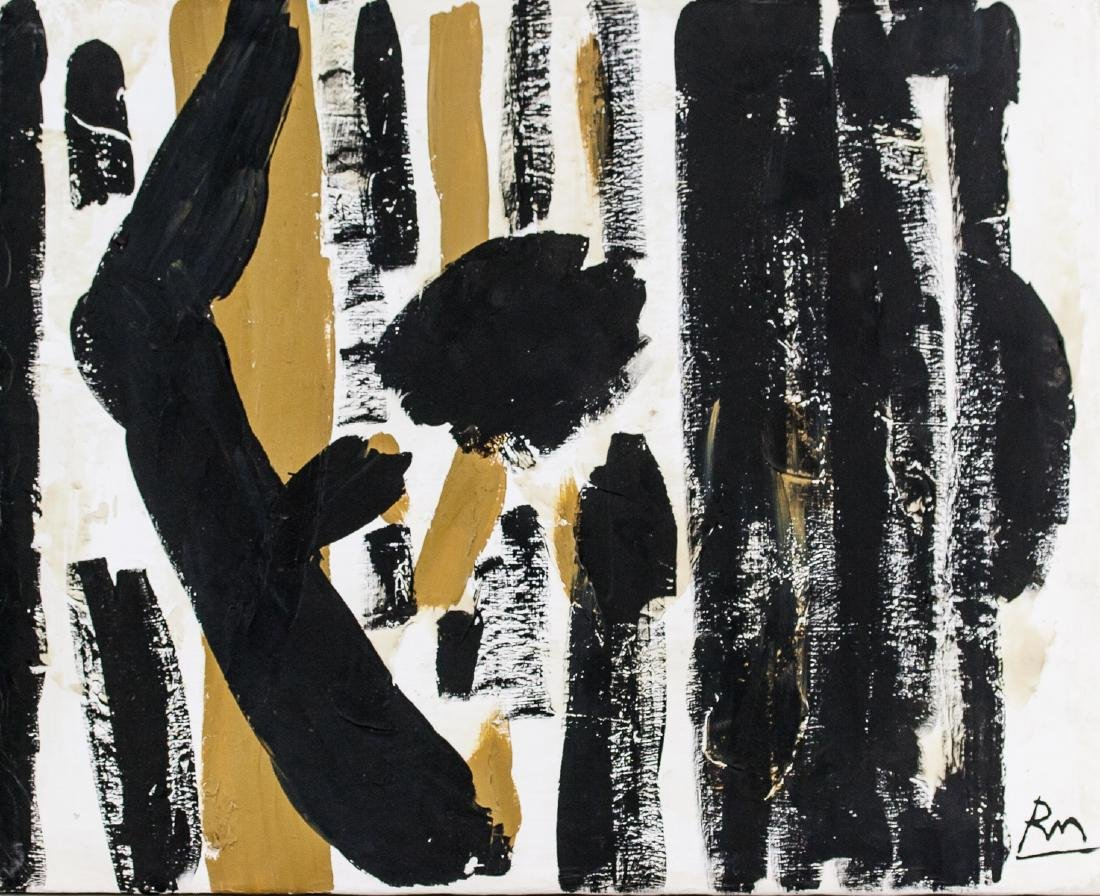 Robert Motherwell US Abstract Expressionist OOC