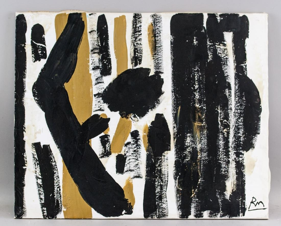Robert Motherwell US Abstract Expressionist OOC - 2