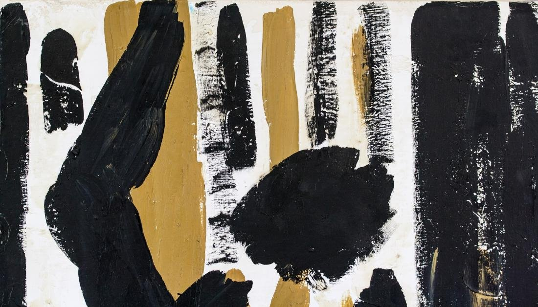 Robert Motherwell US Abstract Expressionist OOC - 3