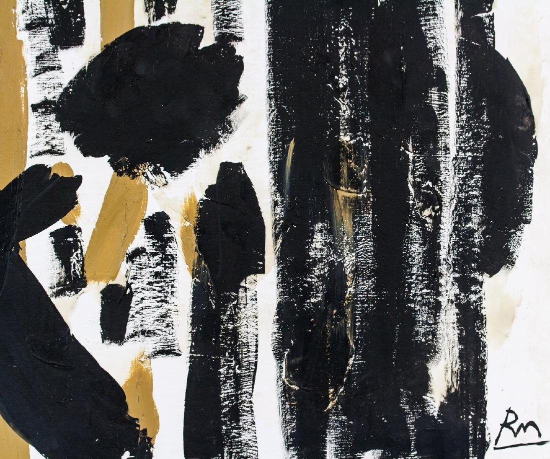 Robert Motherwell US Abstract Expressionist OOC - 5
