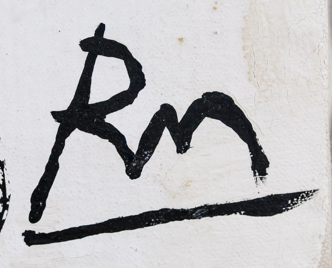 Robert Motherwell US Abstract Expressionist OOC - 6