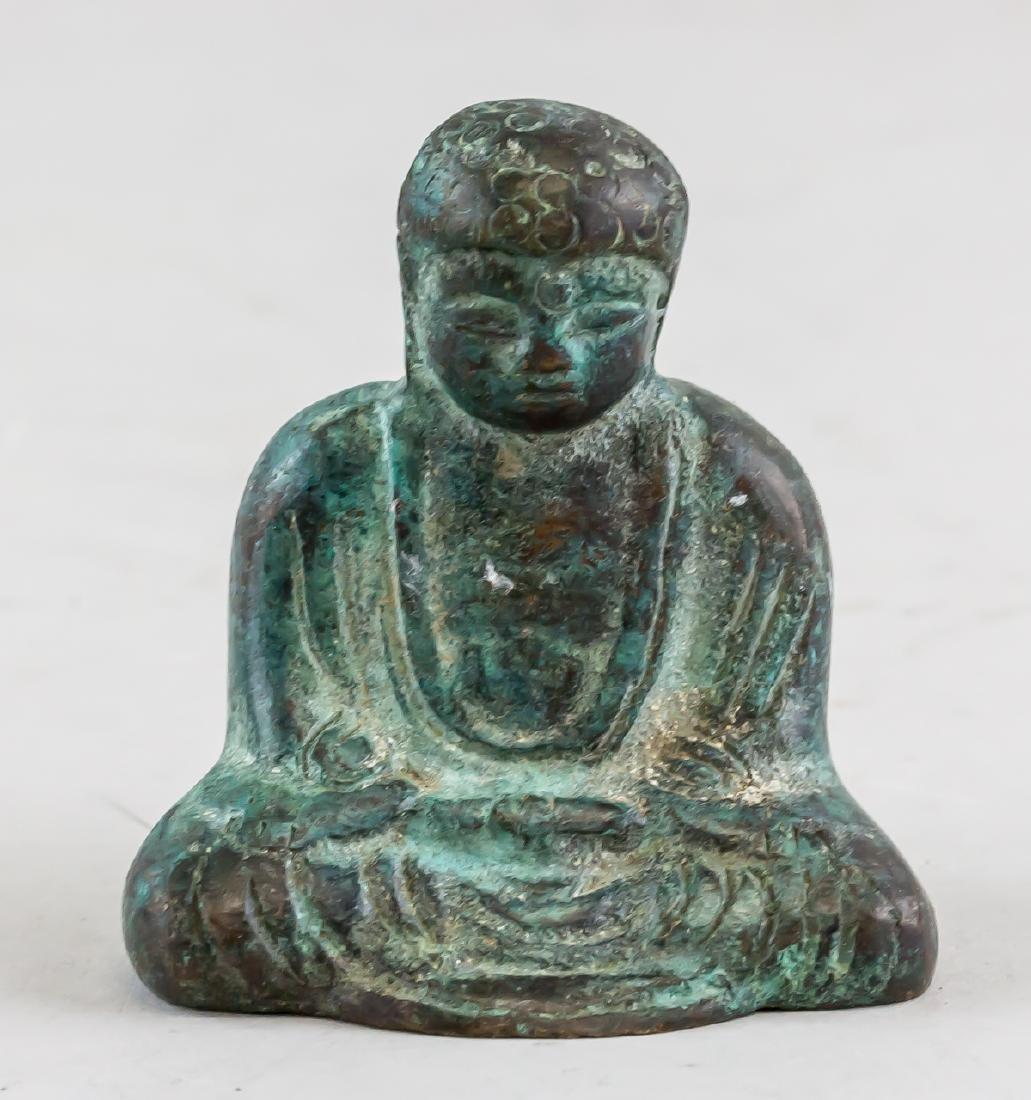 Chinese Bronze Shakyamuni Buddha Statue