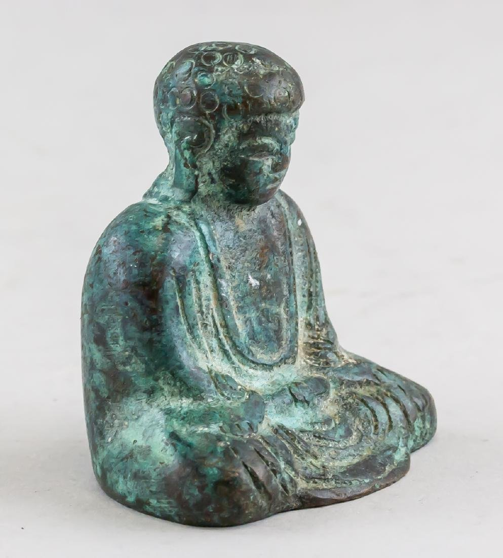 Chinese Bronze Shakyamuni Buddha Statue - 3