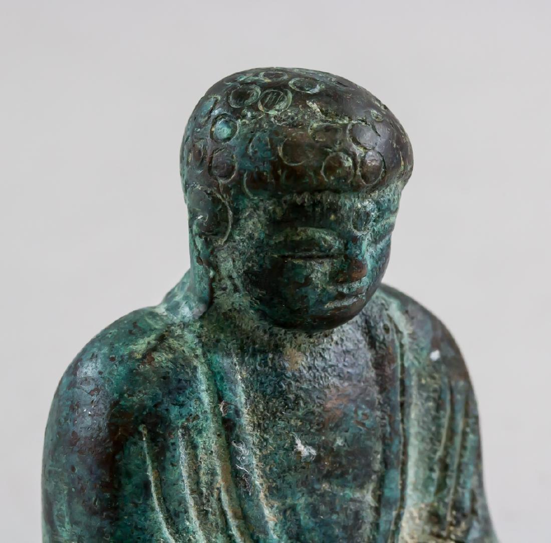 Chinese Bronze Shakyamuni Buddha Statue - 5