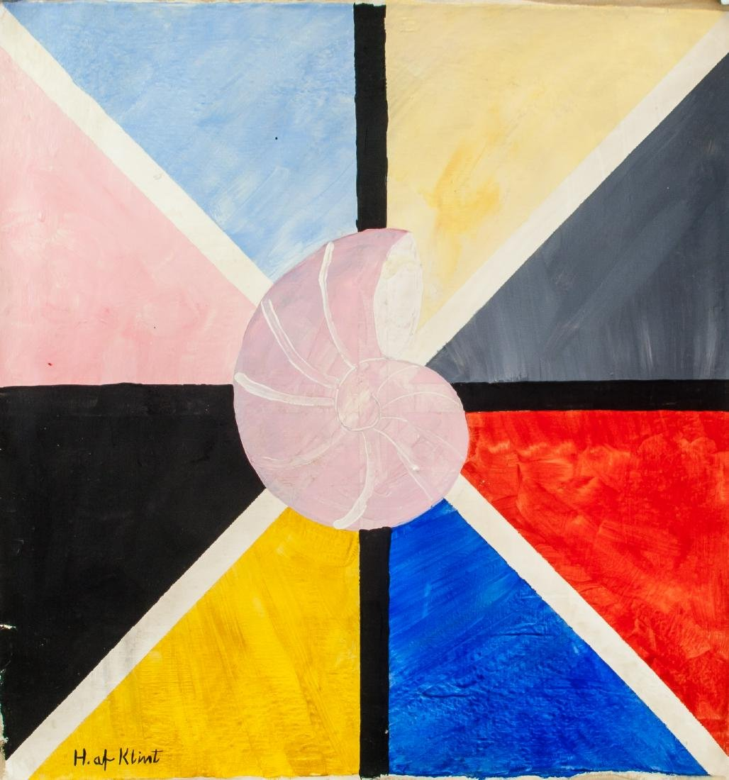 Oil on Canvas Abstract Expressionist Composition