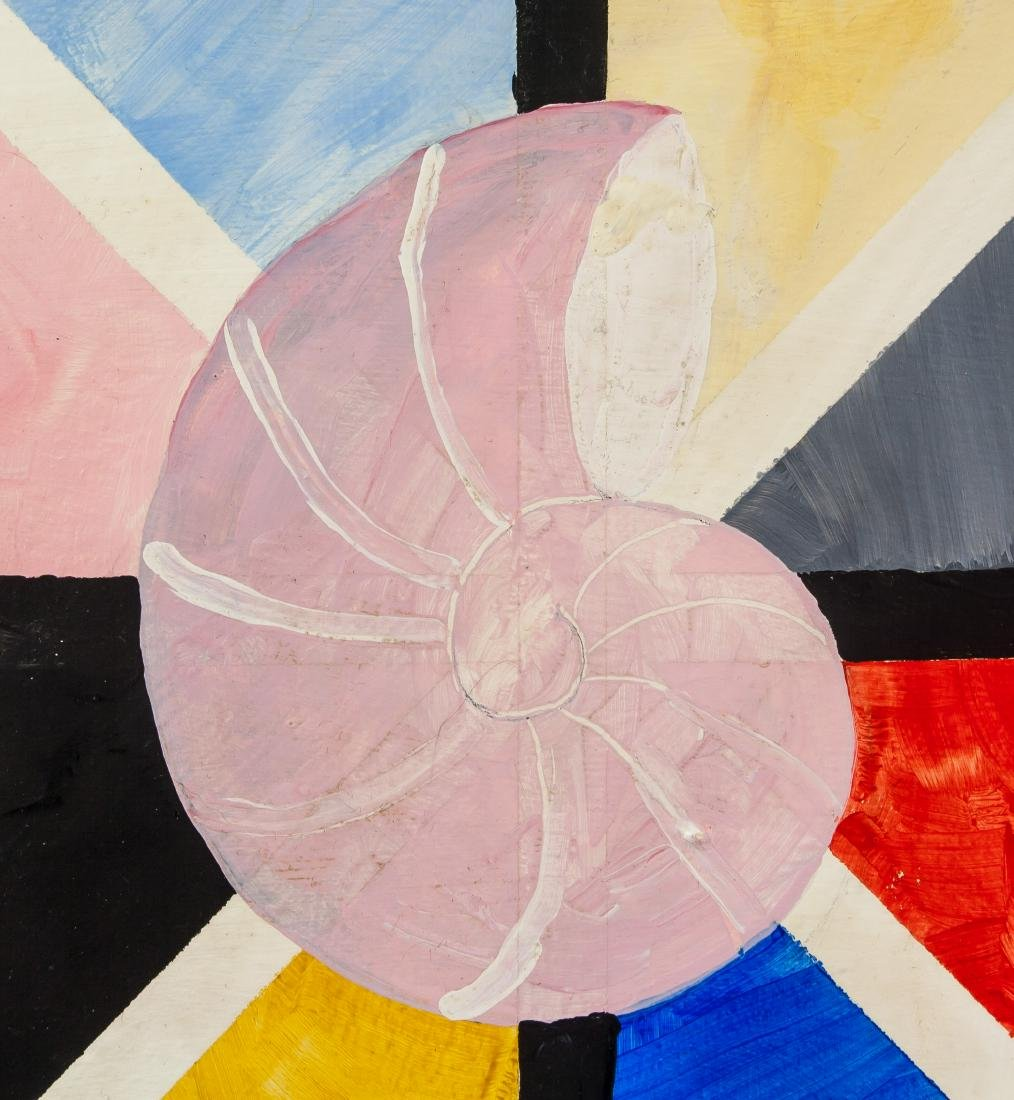Oil on Canvas Abstract Expressionist Composition - 3