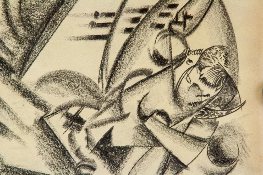 Gino Severini 1883-1966 Italian Graphite on Paper - 3