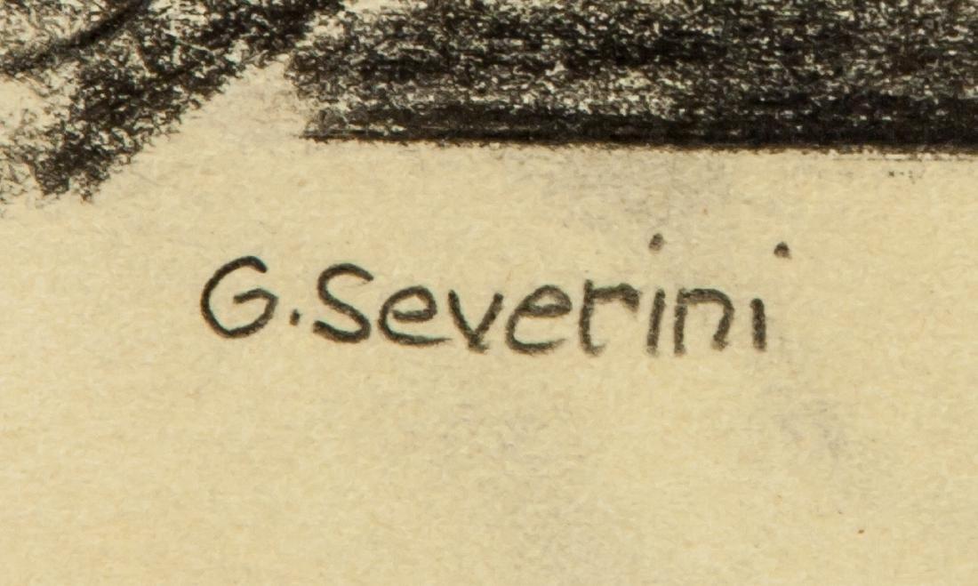 Gino Severini 1883-1966 Italian Graphite on Paper - 4