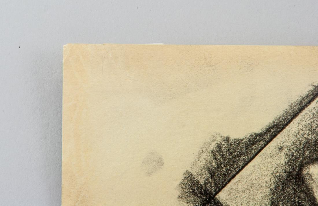 Gino Severini 1883-1966 Italian Graphite on Paper - 5
