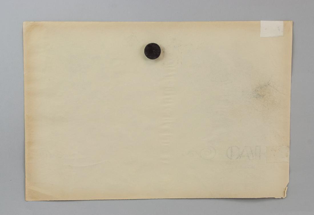 Gino Severini 1883-1966 Italian Graphite on Paper - 6