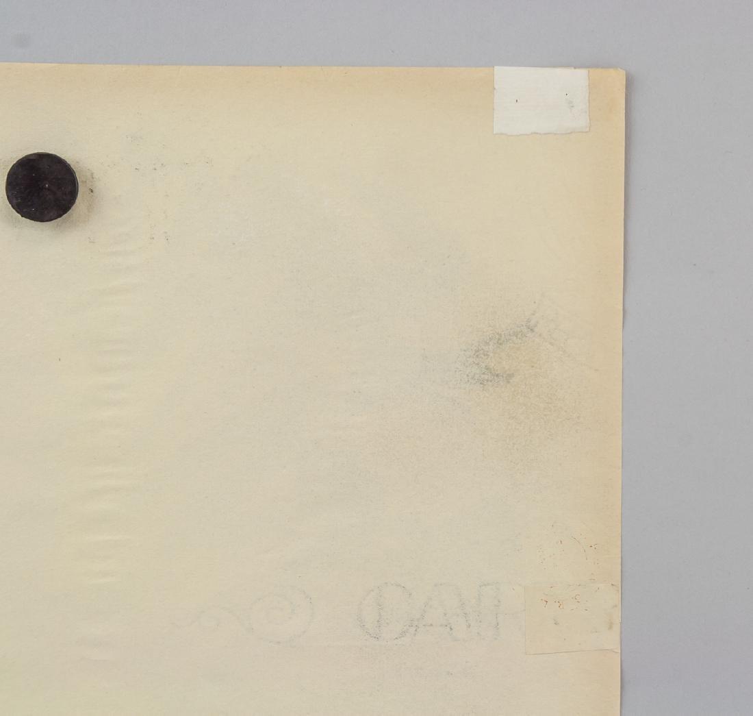 Gino Severini 1883-1966 Italian Graphite on Paper - 7
