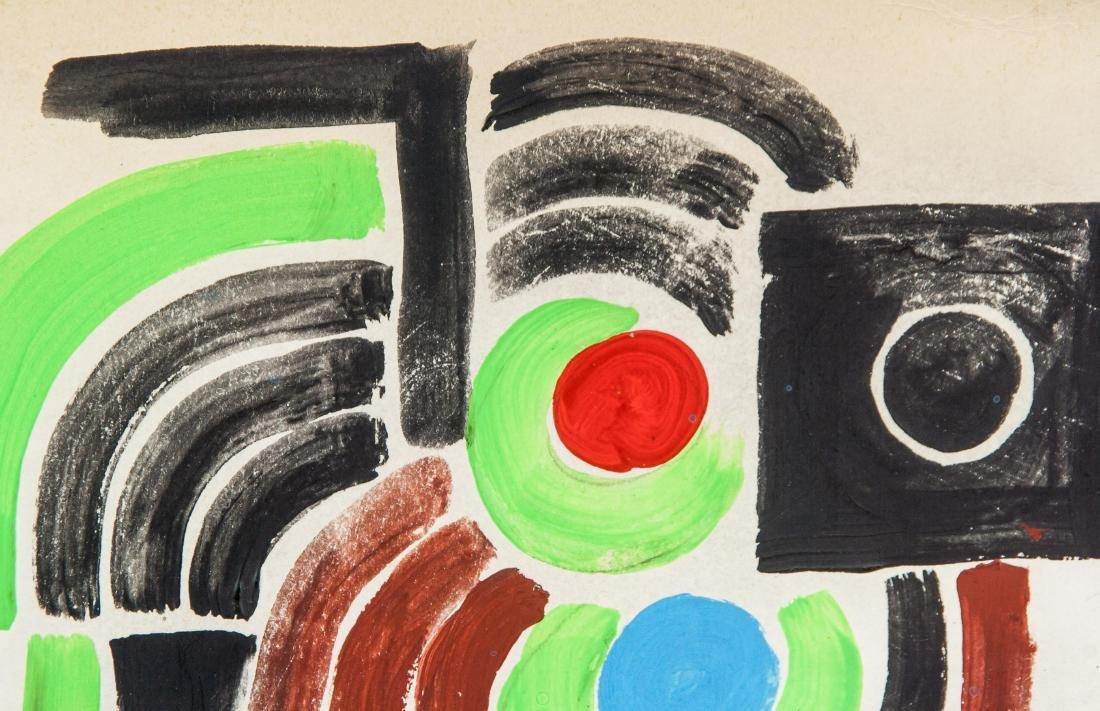 Sonia Delaunay French Abstract Mixed Media - 3