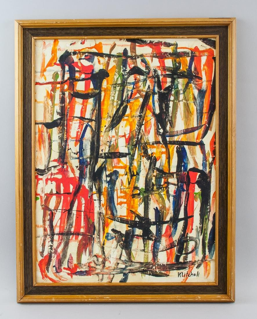 Joan Mitchell American Abstract Oil on Canvas - 2
