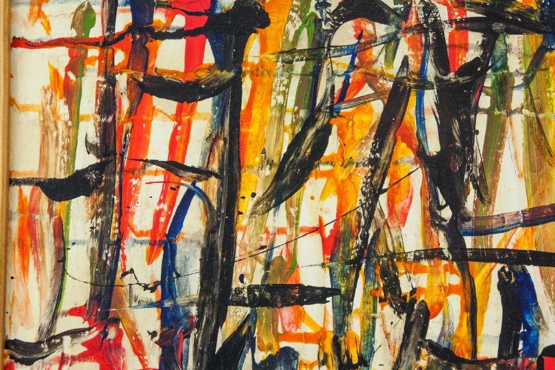 Joan Mitchell American Abstract Oil on Canvas - 3