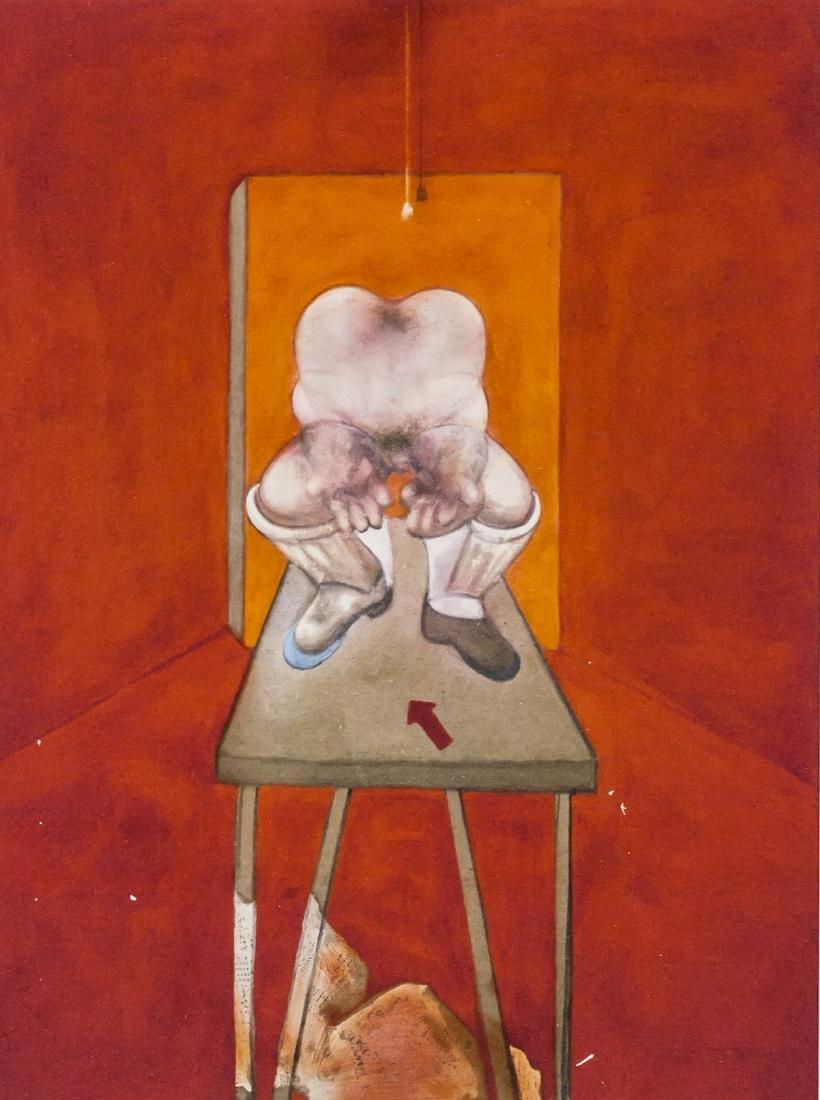 Francis Bacon British Figurative Lithograph 75/100