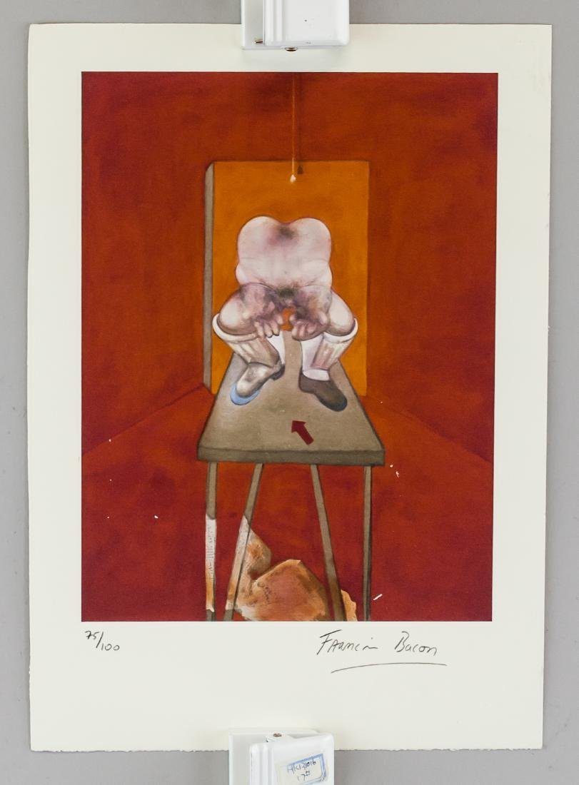 Francis Bacon British Figurative Lithograph 75/100 - 2