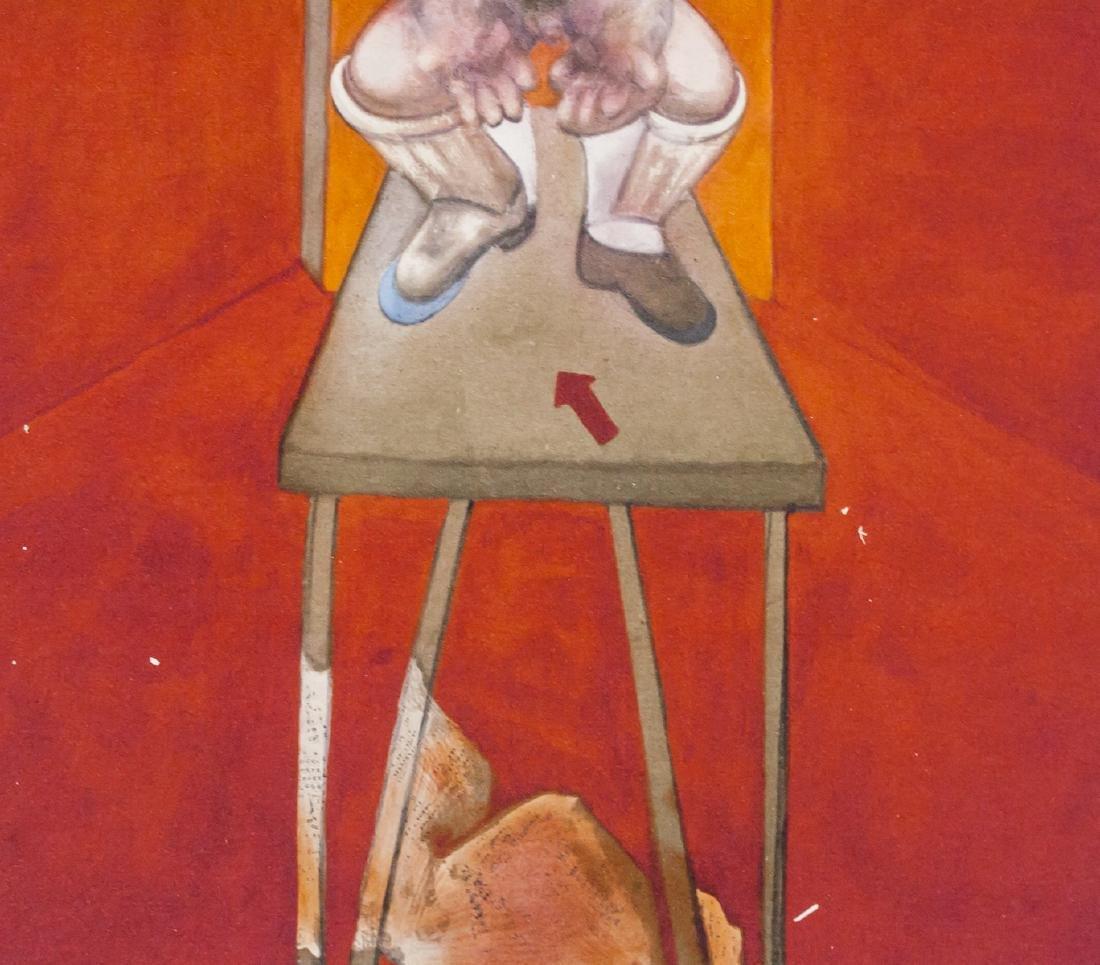 Francis Bacon British Figurative Lithograph 75/100 - 4